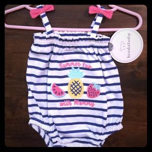 Baby Girl Romper/Outfit NWT